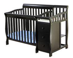 Jayden Portable Convertible Crib and Changer