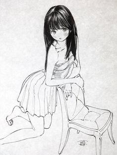 Cartoon Drawings, Drawing Sketches, Art Drawings, Drawing Base, Figure Drawing, Manga Art, Anime Art, Character Art, Character Design