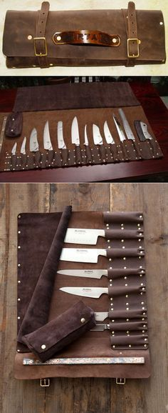 Knife roll designed by Steve Goodson