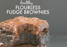 These healthy flourless fudge brownies are rich, soft and super fudgy, you'd be surprised that they only contain THREE ingredients- None of them being butter, oil, flour or sugar! Thanks to the layer of healthy frosting on top, they taste even more fudgy! While the process of making the brownies