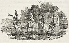 The Churchyard Cavalry by THomas Bewick Art Thomas, Danse Macabre, Wood Engraving, Natural History, Vignettes, Monochrome, Fairy Tales, Gallery, Drawings