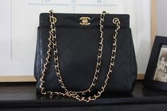 Vintage Chanel bag, love!