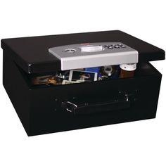 Safe Fireproof Home Security Gun Vault Combination Lock Box Wall Floor Cash Fire #FirstAlert