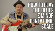 Blues Guitar Lessons - The First Scale You Should Learn How to Solo - E...