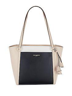 Karl Lagerfeld Hermine Split Leather Tote Karllagerfeld Bags Hand