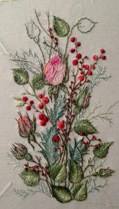 Wonderful Ribbon Embroidery Flowers by Hand Ideas. Enchanting Ribbon Embroidery Flowers by Hand Ideas. Embroidery Designs, Crewel Embroidery Kits, Hardanger Embroidery, Japanese Embroidery, Silk Ribbon Embroidery, Hand Embroidery Patterns, Cross Stitch Embroidery, Embroidery Supplies, Embroidery Needles