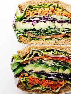 Vegetarian Sandwich Recipes Ultimate Veggie Sandwich
