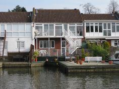 Sleeps 8 - A delightful riverside townhouse with its own private garden and mooring enjoying magnificent views of the river from the conservatory and balcony. Free Wifi. More Details: http://www.riverside-rentals.co.uk/NorfolkHolidayCottages/westbury