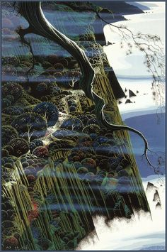 From Out of the Sea Eyvind Earle - WikiPaintings.org 1988