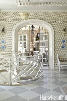 Interiors Southern Charm Meets Modern Glamour Interiors