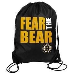 Amazon.com: NHL Boston Bruins 2013 Slogan Drawstring Backpack: Sports & Outdoors