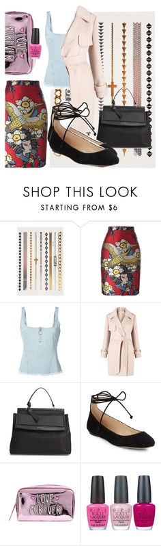 """LOVE ❤️"" by picale ❤ liked on Polyvore featuring Dsquared2, Marques'Almeida, Miss Selfridge, Louise et Cie, Karl Lagerfeld and OPI"