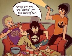 If only they were regular teenagers and not demigods who face life or death situations each day...