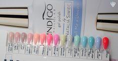 Dziś zapraszam na obiecywany post o nowościach Indigo Nails.      Na sezon wiosenno letni 2017 Indigo wypuściło kolekcję 15 lakierów hybrydo...