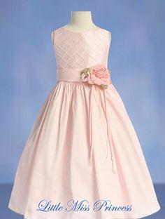 Eileen Pink Flower Girl Dress  $58 Pretty pink
