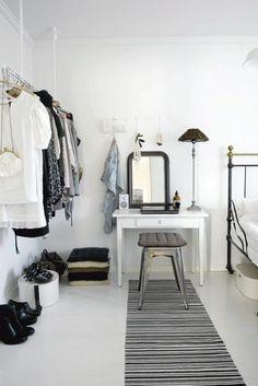 Wardrobe Storage Idea Clothes Rack InteriorHolic