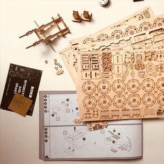 Puzzle en bois 3D Maquette DIY Puzzle mecanique Mecapuzzle DIY  Loisirs créatifs Idée cadeau Puzzle 21st, Puzzle, 3d, Creative Crafts, Gift, Puzzles, Puzzle Games, Riddles