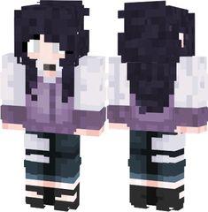 Capas Minecraft, Minecraft Mods, Minecraft Skins, Naruto And Hinata, Hinata Hyuga, Boruto, Skin Mine, Mikey Mouse, Anime