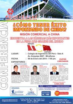 Conferencia dirigida a emprendedores que desean tener un éxito en su empresa importando desde China.