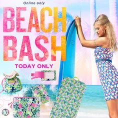 SURPRISE! One day…ONLINE ONLY…Presents to help you pack in print.  #BuyMeLilly #SummerInLilly