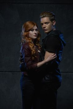 Clary Fray and Jace Wayland Promo Shadowhunters Season 1