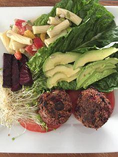 Black Bean Beet Burgers  #Vegan #Vegetarian #DairyFree #BlackBean #BlackBeans #Beet #Beets #Burger #BeetBurger #VeggieBurger #Homemade #Recipe #VeganRecipe #VeganChef #PrivateChef #Blog #Blogger #BlogPost #BellinisToBlooms #VegaTable #VegaTableRI