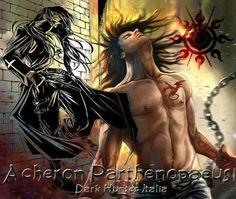 Acheron_Sherrilyn Kenyon Film Books, Book Authors, Paranormal Romance, Romance Novels, Book Characters, Fantasy Characters, Sherrilyn Kenyon Books, Chronicles Of Nick, Dark Hunter