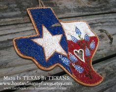 Heart Of Texas Plaque / Rustic Ranch Texas by HootandNannyFarms