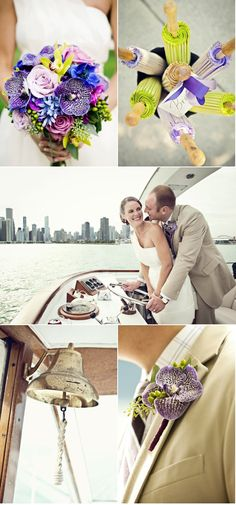 Yacht Wedding by Dana Ann Photography - Book your Michigan yacht wedding at www.InfinityAndOvation.com
