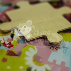 Dřevěné puzzle - Vilac - Květinová princezna - 54 dílů Gingerbread Cookies, Gingerbread Cupcakes