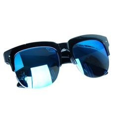0865cf6d750 New Big Box Mens Sunglasses Cool Bright Reflective Outdoor Bicycle Fishing  Sunglasses Wholesale