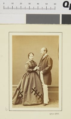 Princess Helena and Prince Christian of Schleswig-Holstein, 1865 [in Portraits of Royal Children Vol.9 1865] | Royal Collection Trust