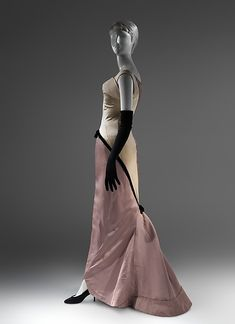 """""""Diamond"""" dress (image 3)   Charles James   American   1957   silk, synthetic   Brooklyn Museum Costume Collection at The Metropolitan Museum of Art   Accession Number: 2009.300.1015"""