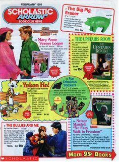 Scholastic Book Club What memories do you associate with this? Source: Zithrop