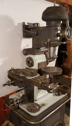 Gilman, aa engineering Company in Jamesville Wisconsin, were known for two machine tool: small Precision lathes and a multi-function Lathe Tools, Mechanical Design, Vintage Tools, Machine Tools, Milling, New Shop, Drills, Espresso Machine, Metal Working
