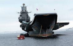 """Russland schickt seinen einzigen Flugzeugträger """"Admiral Kusnezow"""" ins…"""