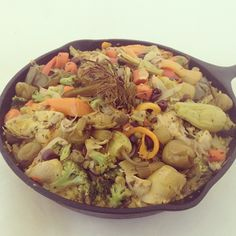 Today's awesome lunch: vegan paella! - @vegnews | Webstagram