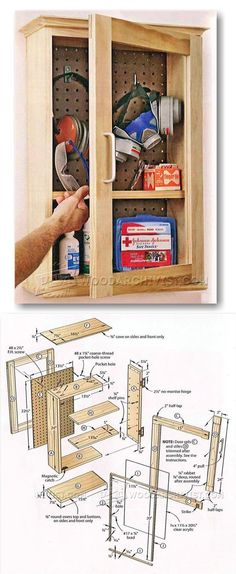 First Aid Cabinet Plans - Workshop Solutions Plans, Tips and Tricks | WoodArchivist.com