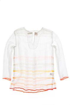 Tiru Open Weave Tunic Lemlem, Colouring Pics, Open Weave, Rainbow Colors, Cool Outfits, Cover Up, Stripes, Tunic, My Style