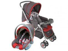 Carrinho de Bebê Passeio Cosco Travel System - Reverse Reclinável 3 Posições p/ Crianças até 15kg