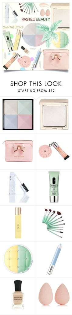 """Pastel makeup"" by arohii ❤ liked on Polyvore featuring beauty, Givenchy, Jouer, Ted Baker, Victoria's Secret, Winky Lux, Clinique, UKA, Physicians Formula and Marc Jacobs"