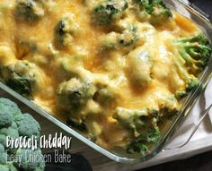 With just 4 ingredients, this broccoli cheese chicken bake recipe brings all the delicious flavor of comfort food into a dinner that is almost too easy to make on a busy weeknight! This is a sponso…