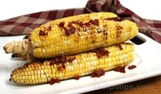 Grilled Corn with Chipotle, Molasses and Orange Glaze - Make an ...