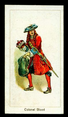 Cigarette Card - Colonel Blood by cigcardpix, via Flickr