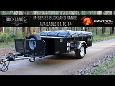 M1 Buckland LX Offroad Camper Trailer with TN230 Tent package