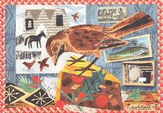 Mark Hearld Exclusive Christmas Card commissioned by Pallant House Gallery Bookshop | Pallant Bookshop
