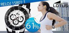 Exclusivo Reloj Lotus http://deporte.mequedouno.com.mx (¡recuerda que nuestras ofertas sólo duran 24 horas!)