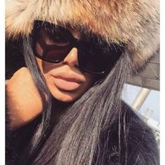 Large Oversized Square Sunglasses Women Fashion Thick Retro Frame Gradient Lens #TopExclusive #Square