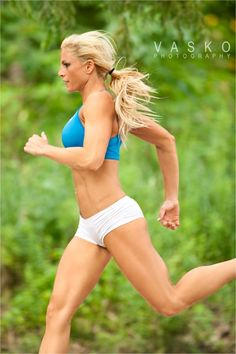 How endurance running affects the body's muscle and body fat