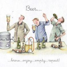 Cards » Beer » Beer - Berni Parker Designs